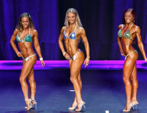 Line up Finally Bikinifitness